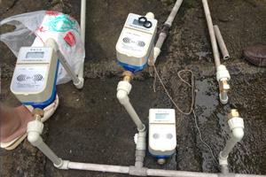 六盘水市盘江镇安饮水工程使用IC卡智能水表
